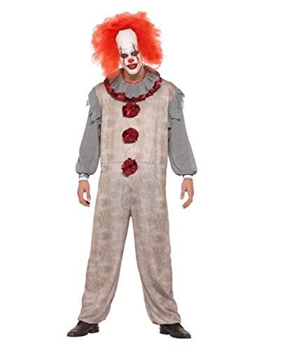 Vintage Horror-Clown Kostüm für Halloween M