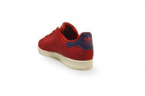Adidas Stan Smith, Sneaker Unisex adulto Rosso rosso blu scuro ba8445