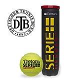 Tretorn Tennisball Serie Plus Germany 4er, Gelb, One size, 0282170122900000