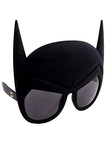 Officially Licensed Batman Mask Sunstaches