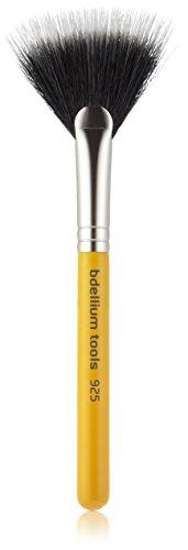 Bdellium Tools Professional Antibacterial Makeup Brush Travel Line - Duet Fiber Fan 925