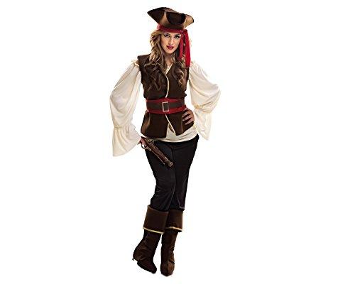 Imagen de my other me  disfraz de bucanera para mujer, xxl viving costumes 200642