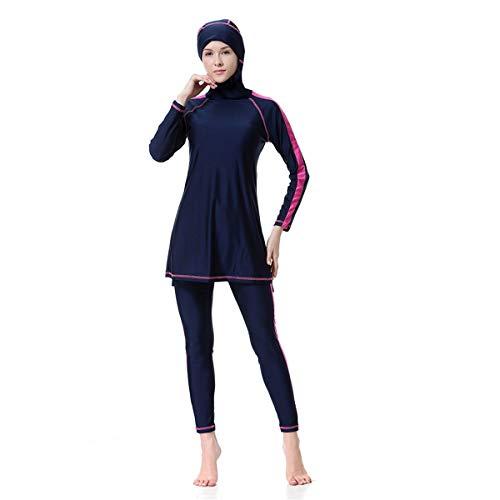 Señoras De Las Mujeres Abaya Musulmán Dubai Musulmanas Islámico Burkini Ropa Festiva Traje De Baño Traje De Baño Traje De Baño Traje De Baño Traje De Baño Hijab Manga Larga Árabe Ropa S