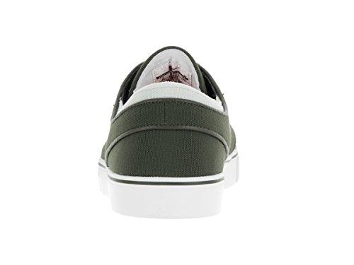 NIKE  Zoom Stefan Janoski, Chaussures de skateboard homme Blanc / métallique