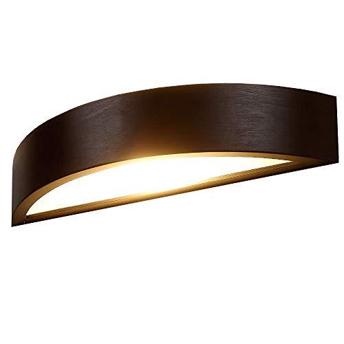 Wandleuchte aus Holz LED 6W | Holzleuchte Wenge E27 230V | Holzwandleuchte Jasmin | Wandlampe modern...