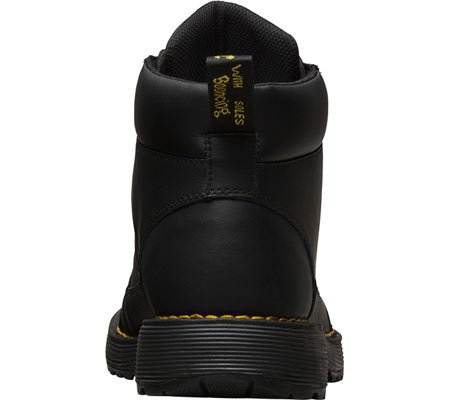 Dr.Martens Mens Trae Peidmont Split Leather Boots Noir