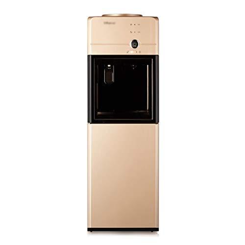 Kühler & Wasserspender Wasserkühler zweite geschwindigkeit heizung wasser maschine vertikale doppeltür chiller tee bar maschine sicherheit kindersicherung ( Color : Gold , Size : 30.9*30.4*103.8ccm )