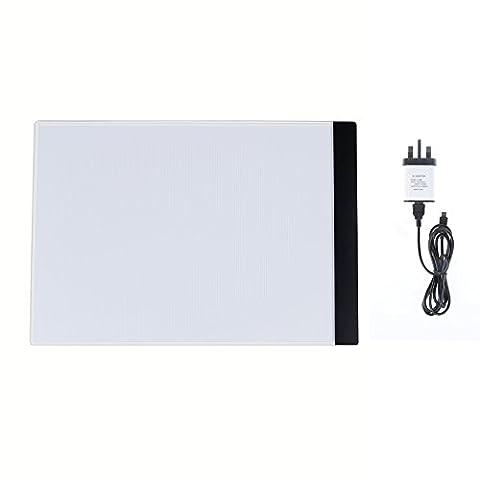 U2skiin A4ultra fine LED portable tablette USB Boîte à lumière Tracer pour artistes, dessin, croquis, DE L'Animation