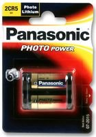 BATTERY, PHOTO LITHIUM 2CR5 6V 2CR5M By PANASONIC ELECTRONIC COMPONENTS