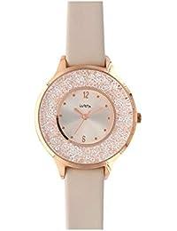 Amazon.es  Beige - Relojes de pulsera   Mujer  Relojes 00aa9640265