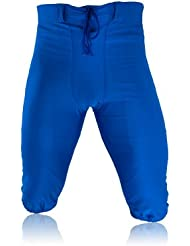 Full Force american football pantalon professionnel, stretch, bleu royal, taille YL-5x l