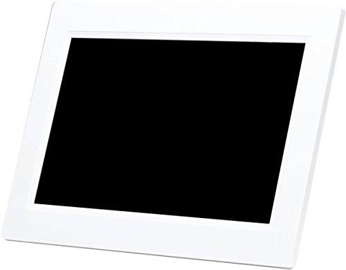 Denverdigital WiFi-Bilderrahmen 25.4 cm 10 Zoll 1024 x 600 Pixel 8 GB blanc