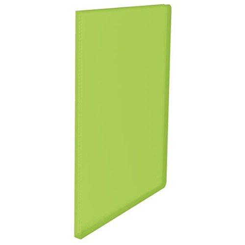 Esseline Sichtbuch, 10 Hüllen, 20 Blatt, durchsichtig, entspiegelt, Polypropylen, VIVIDA grün