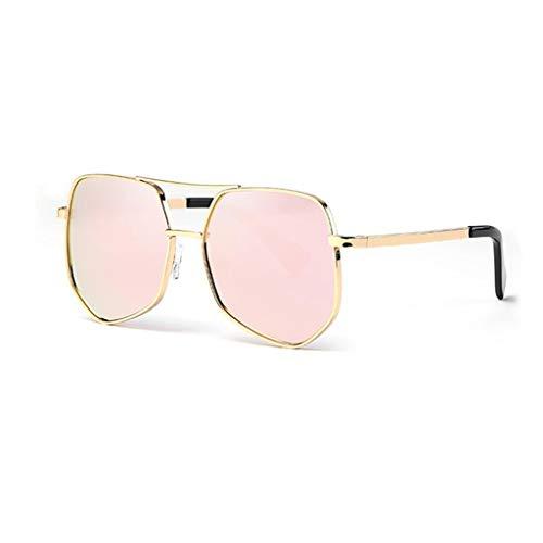 YIWU Brillen 2019 Big Box Spiegel Weibliche Flut Net rot großes Gesicht koreanische Version Celebrity Street Beat Sonnenbrille Männer Polarisierte leichte Sonnenbrille Fahren Brillen & Zubehör