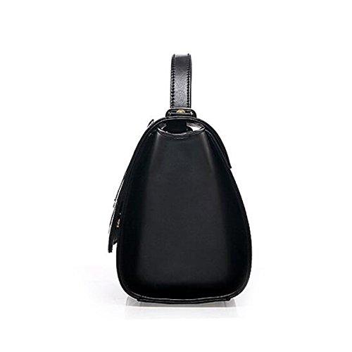 Frauschultertasche Messenger Bag Handtasche Tasche Fuchs Flügel Black