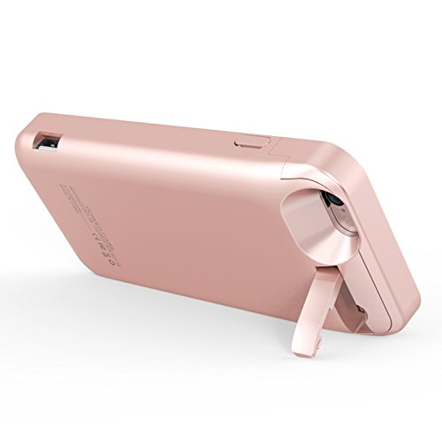 iPhone 6 / iPhone 6S Coque Batterie Étui 5800mAh Ultra Mince External Rechargeable de Chargeur Portable de Secours Externe Chargeur Housse Power Case Prolonger de Protection pour iPhone 6 / iPhone 6S Or rose