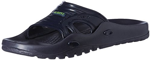 Gliders (from Liberty) Men's Blue Flip Flops & Home Slippers - 6 UK  available at amazon for Rs.214