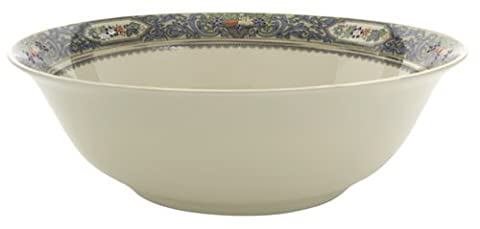 Lenox Autumn Gold-Banded Fine China Serving Bowl by Lenox