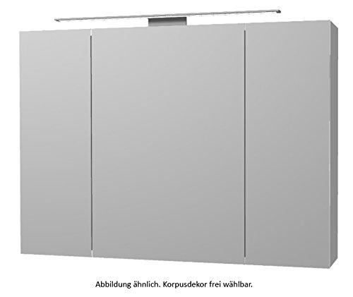 PELIPAL Solitaire 6005 Spiegelschrank inkl. LED / AG-SPS 26-X / Comfort N / B: 98 cm