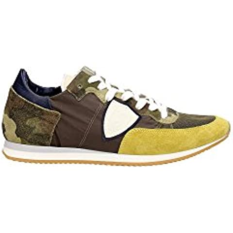 TRLUWC24 Philippe Model Sneakers Hombre Gamuza Verde