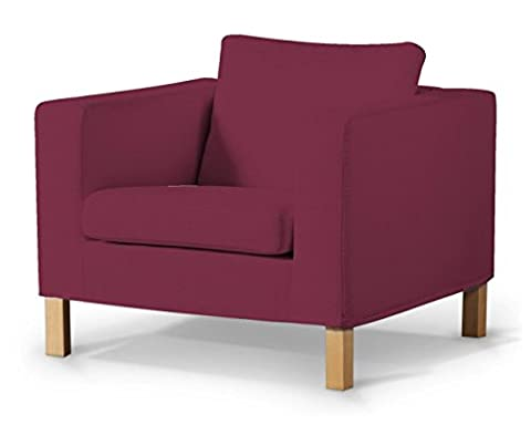 Housse Fauteuil Prune - Dekoria Fire Retardant IKEA karlanda Housse de