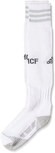 adidas Herren Socken Real Madrid Heim, White/Clear Grey, 43-45, AH6762 (Pro Nylon Sock Herren Football)