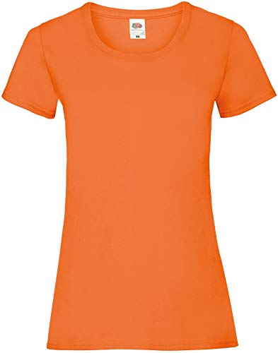 Fruit of the Loom - Lady-Fit Valueweight T - Modell 2013 XXL,Orange