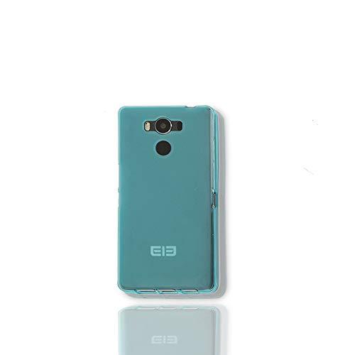 GOGODOG Elephone P9000 Hülle Cases Cover Vollständige Abdeckung Ultra dünn Matte Anti-Rutsch Kratzen Beständig Softshell (Blau)