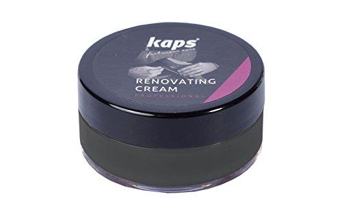 Renovating Cream Reparatur Set von Rissen Lederfarbe Color-Leder - Schwarz 118 -