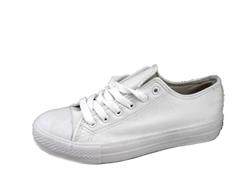 Rebelde , Damen Sneaker Weiß