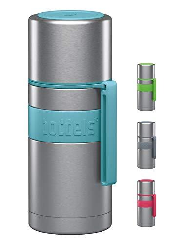 boddels Isolierflasche HEET 350ml (Türkisblau) - Deine Thermoskanne für unterwegs