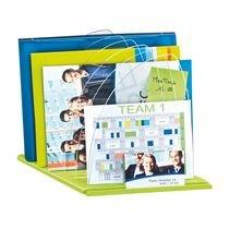 CEP 1008160301 - Organizzatore per documenti, lucido, 816 g, colore: anice, verde, trasparente