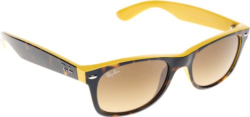 ray-ban-rb2132-new-wayfarer-gafas-de-sol-55-mm-amarillo-gelb-601485-55-mm