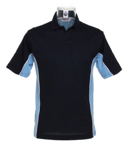 Gamegear Gamegear Track Polo Navy/ Light Blue/ White