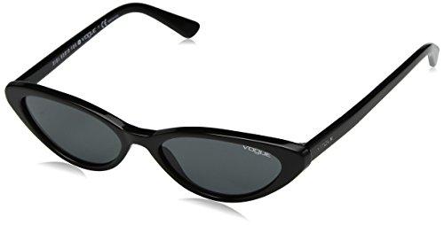 Vogue 0vo5237s w44/87 52, occhiali da sole donna, nero (black/grey)