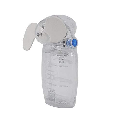 xinrongqu Carino Mini Portatile Tascabile Mano Fresca Ventilatore Bianco