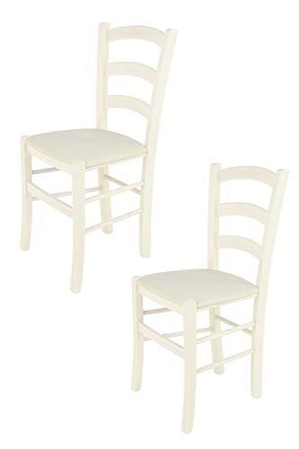 Tommychairs - Juego de 2 sillas clásicas Venice para Cocina y Comedor,...