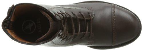Aigle Isaro Stivali da Equitazione, da Donna Marrone (Dark Brown)