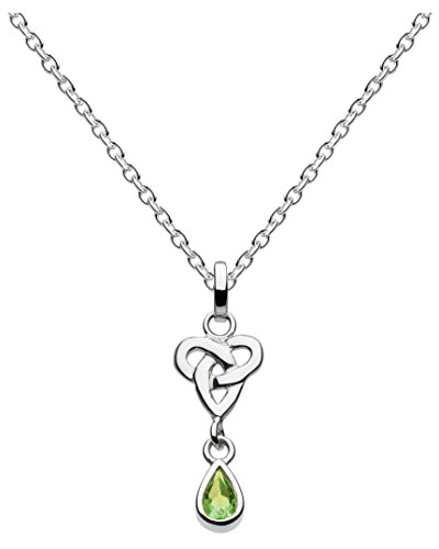 heritage-sterling-silver-and-peridot-celtic-trio-knot-necklace-of-length-457cm