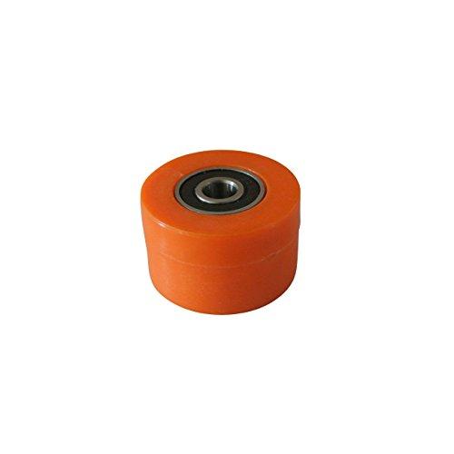 Kettenrolle Spannrolle Radführung 8mm für Motorrad Dirt Bike Enduro Orange