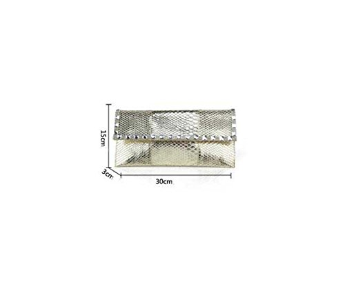 Busta Tempestato Di Diamanti Signora Brillante Bag Ladies Cena Brown
