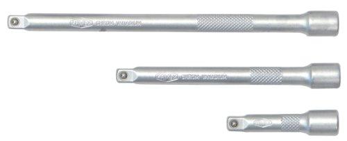 Famex 10678-3 Steckschlüssel Verlängerungen, 6,3 mm (1/4-Zoll)-Antrieb, Set 3-teilig