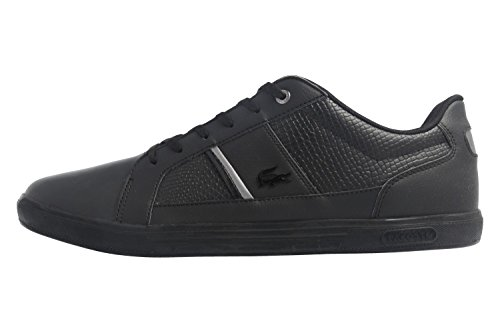 Lacoste Sneaker in Übergrößen Schwarz 7-34SPM0044024 große Herrenschuhe, Größe:51