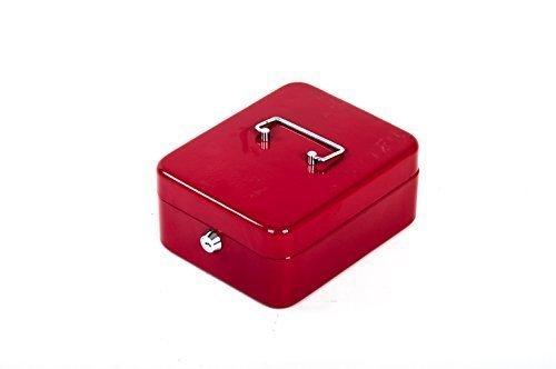 Geldkassette div. Farben (rot)