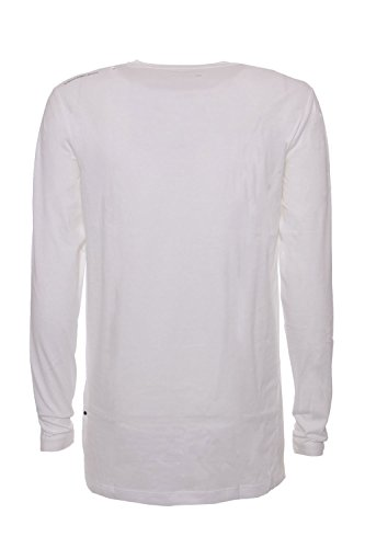 CALVIN KLEIN JEANS - Herren langarm t-shirt toine tee j30j305348 Weiß