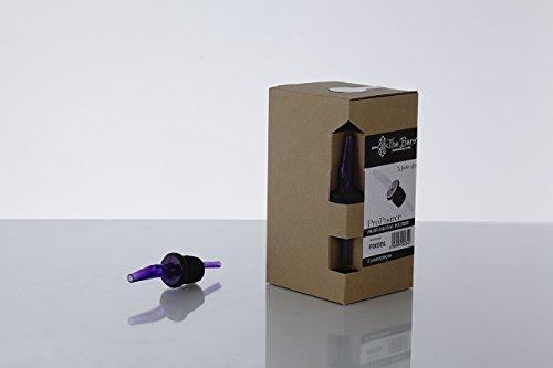 PROPOURER/ Ausgießer Polycarbonat und Naturkautschuk 12 Stück ; P005B - schwarz