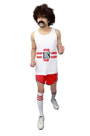 118 Sans manches courtes pour homme Adulte Fancy me Déguisement de la marque Maillot Short (Kostüm Homme Marque)