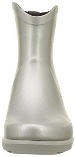 Aigle Ms Juliette Bot, Bottes de Pluie femme silver