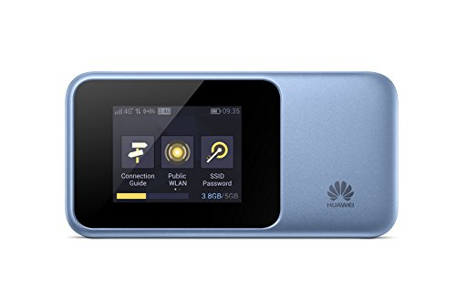 Price comparison product image Huawei E5788 Unlocked to all Networks,  World's First Super-fast 4G / 5G 1Gbps,  Mobile WiFi Hotspot with 6GB Data Sim Card