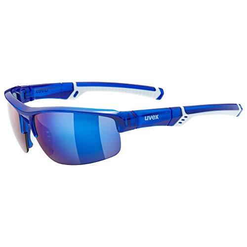 Uvex Erwachsene Sportstyle 226 Sportbrille, Blue/White, One Size